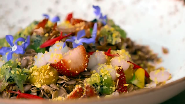 Edible Flowers and Gourmet Gar